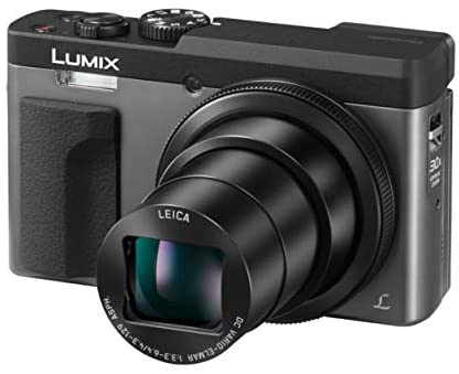 41JWAet3hgL. AC  - Panasonic LUMIX DC-ZS70S 20.3MP 4K Digital Camera (Silver) with Battery and External Charger Travel Pack Bundle