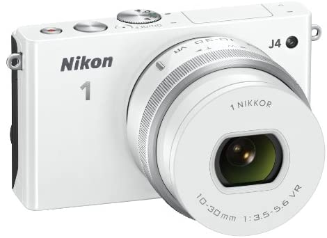 41OazBLomZL. AC  - Nikon 1 J4 Digital Camera with 1 NIKKOR 10-30mm f/3.5-5.6 PD Zoom Lens (White) (Discontinued by Manufacturer)