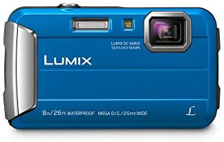 41OrcyMhNpL. AC  - Panasonic LUMIX Waterproof Digital Camera Underwater Camcorder with Optical Image Stabilizer, Time Lapse, Torch Light and 220MB Built-In Memory – DMC-TS30A (Blue)