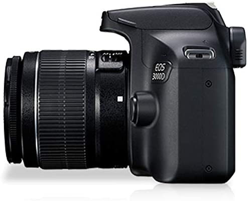 41OxKJTDfFL. AC  - Canon EOS 3000D (Rebel T100) DSLR Camera with 18-55mm f/3.5-5.6 Zoom Lens + 32GB Card, Tripod, Case, and More (18pc Bundle)