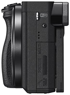 """41PGKTPzKbL. AC  - Sony Alpha a6300 Mirrorless Camera: Interchangeable Lens Digital Camera with APS-C, Auto Focus & 4K Video - ILCE 6300 Body with 3"""" LCD Screen - E Mount Compatible - Black (Includes Body Only)"""