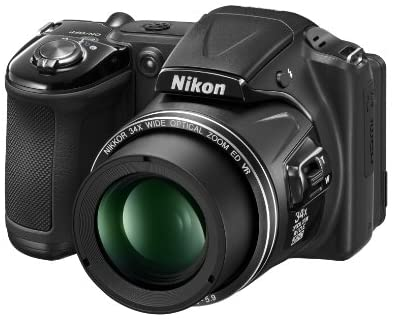 41PnY32HkWL. AC  - Nikon COOLPIX L830 16 MP CMOS Digital Camera with 34x Zoom NIKKOR Lens and Full 1080p HD Video (Black) (Discontinued by Manufacturer)