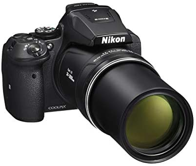 41RT05c1SZL. AC  - Nikon COOLPIX P900 16MP Zoom Digital Camera with 83x Optical Zoom, Built-in Wi-Fi and NFC (Black) (Renewed)