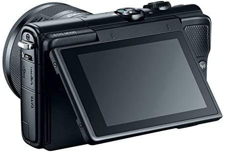 41RrrES8n8L. AC  - Canon EOS M100 Mirrorless Camera w/ 15-45mm Lens - Wi-Fi, Bluetooth, and NFC enabled (Black)