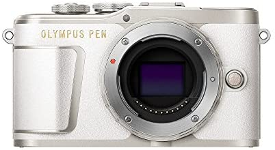 41UFP3aq8QL. AC  - Olympus PEN E-PL9 Body Only with 3-Inch LCD (Pearl White)