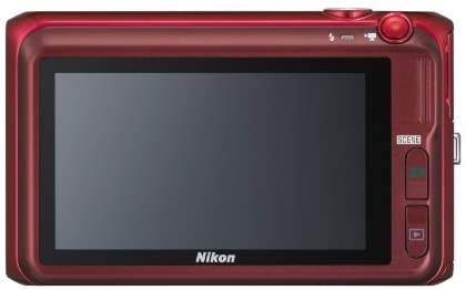 41UwLuM5KsL. AC  - Nikon COOLPIX S6400 16 MP Digital Camera with 12x Optical Zoom and 3-inch LCD (Red)