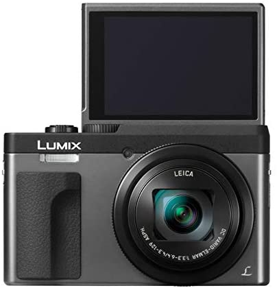 41VcOXtrZhL. AC  - Panasonic LUMIX DC-ZS70S 20.3MP 4K Digital Camera (Silver) with Battery and External Charger Travel Pack Bundle
