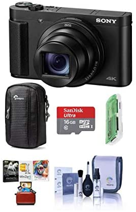 41WbRt+WuhL. AC  - Sony Cyber-Shot DSC-HX99 18.2MP Compact Digital Camera with ZEISS 24-720mm Zoom Lens, Black - Bundle with Camera Case, 16GB MicroSDHC Card, Cleaning Kit, Card Reader, Mac Software Package
