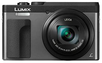 41X9OAeLFAL. AC  - Panasonic LUMIX DC-ZS70S 20.3MP 4K Digital Camera (Silver) with Battery and External Charger Travel Pack Bundle