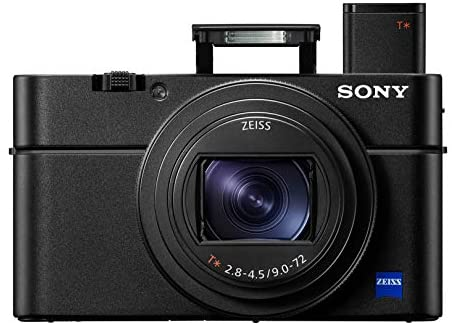 41a8GqkzZhL. AC  - Sony RX100 VI 20.1 MP Premium Compact Digital Camera w/ 1-inch sensor, 24-200mm ZEISS zoom lens and pop-up OLED EVF