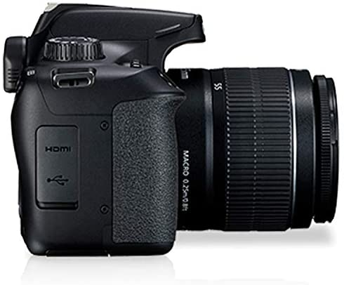 41aUnSkktAL. AC  - Canon EOS 3000D (Rebel T100) DSLR Camera with 18-55mm f/3.5-5.6 Zoom Lens + 32GB Card, Tripod, Case, and More (18pc Bundle)