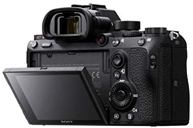 """41d7SC0i3uL. AC  - Sony a7R III Mirrorless Camera: 42.4MP Full Frame High Resolution Interchangeable Lens Digital Camera with Front End LSI Image Processor, 4K HDR Video and 3"""" LCD Screen - ILCE7RM3/B Body, Black"""