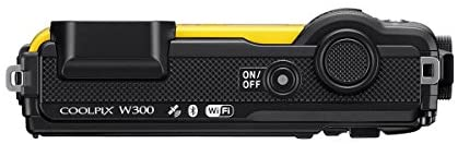 41duQIKYv L. AC  - Nikon Coolpix W300 Point & Shoot Camera, Yellow - Bundle with 16GB SDHC Card, Camera Case, Cleaning Kit, PC Software Package