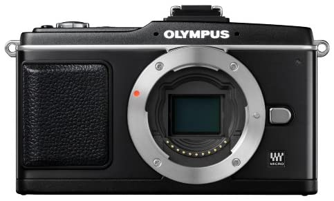 41fS ThLXWL. AC  - Olympus PEN E-P2 12.3 MP Micro Four Thirds Mirrorless Digital Camera with 17mm f/2.8 Lens and Electronic View Finder