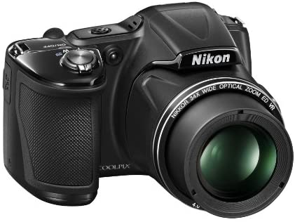 41fWaiM IqL. AC  - Nikon COOLPIX L830 16 MP CMOS Digital Camera with 34x Zoom NIKKOR Lens and Full 1080p HD Video (Black) (Discontinued by Manufacturer)