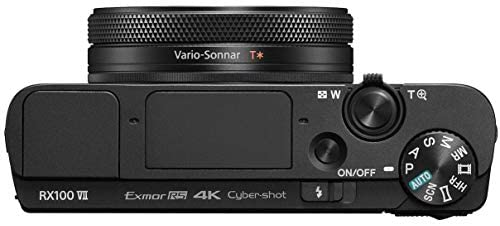 41i0oqqTYyL. AC  - Sony Cyber-Shot RX100 VII RX100M7 Premium Compact Camera DSC-RX100M7 24-200mm Zoom Lens Essential Bundle with Triple 3X Battery Pack + 64GB Memory Card + Deco Gear Travel Case Accessory Kit
