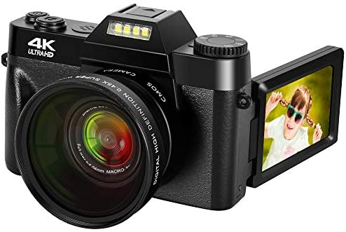 41iciiqF6RL. AC  - 4K Digital Camera 48MP Camera Vlogging Camera for YouTube 30FPS Video Camera 16X Digital Zoom Camera with Flip Screen Camera (Fixed Focus&Without Micro sd Card)