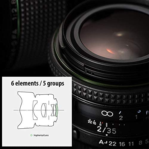 41kcnWFHOKL. AC  - HD PENTAX-FA35mmF2 Versatile Wide-Angle Lens Latest HD Coating minimizes Flare and Ghost SP Coating to Repel Stains New Exterior Design Hybrid aspherical Lens for Extra-Clear, high-Contrast Images