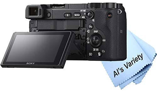 41lz2L7UKsL. AC  - Sony Alpha a6400 Mirrorless Digital Camera with 16-50mm Lens+ 32GB Card, Tripod, Case, and More (18pc Bundle)