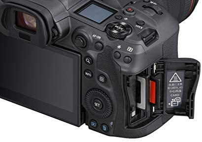 41mvx5ZgvQL. AC  - Canon EOS R5 Full-Frame Mirrorless Camera with 8K Video, 45 Megapixel Full-Frame CMOS Sensor, DIGIC X Image Processor, Dual Memory Card Slots, and Up to 12 fps Mechnical Shutter, Body Only