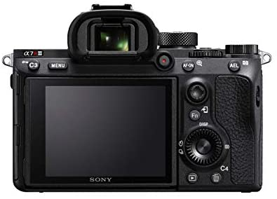 """41p2mgexGPL. AC  - Sony a7R III Mirrorless Camera: 42.4MP Full Frame High Resolution Interchangeable Lens Digital Camera with Front End LSI Image Processor, 4K HDR Video and 3"""" LCD Screen - ILCE7RM3/B Body, Black"""