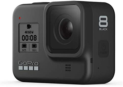 41u1Z8RCLgL. AC  - GoPro HERO8 Black, Waterproof Digital Sports and Action Camera with Touch Screen 4K UHD Video 12MP Photos, Power Bundle with Dual Charger, 3 Batteries, 128GB microSD Card, Cleaning Kit
