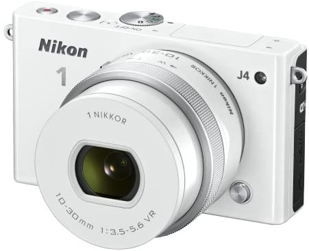 41xxwmRfNCL. AC  - Nikon 1 J4 Digital Camera with 1 NIKKOR 10-30mm f/3.5-5.6 PD Zoom Lens (White) (Discontinued by Manufacturer)