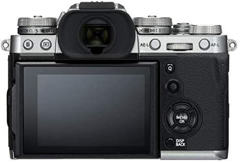 41zzt4tmhxL. AC  - Fujifilm X-T3 Mirrorless Camera Body, Silver - Bundle with 32GB SDHC U3 Card, Camera Case, Cleaning Kit, Memory Wallet, Card Reader, Mac Software Package