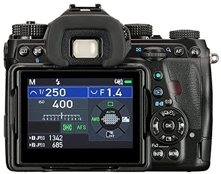 """51 bUArf mL. AC  - Pentax K-1 Mark II Full Frame 36MP Weather Resistant DSLR with 3.2"""" TFT LCD, Black"""