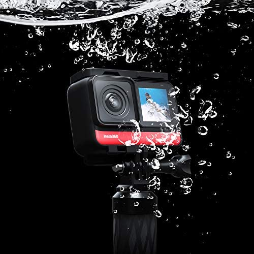 516cppA UHL. AC  - Insta360 ONE R Twin Edition – Action Camera & 360 Camera with Interchangeable Lenses, Stabilization, IPX8 Waterproof, Touch Screen, AI Editing