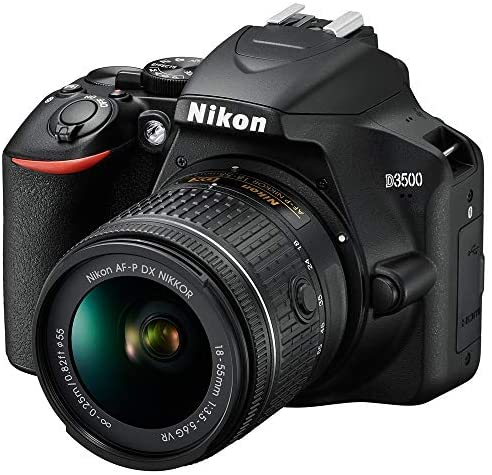 5195LwRmPsL. AC  - Nikon D3500 24.2MP DSLR Camera with AF-P 18-55mm VR Lens & 70-300mm Dual Zoom Lens Kit Bundle with Camera Bag, Wide Angle Lens, Telephoto Lens, Filter Sets, 32GB Memory Card and Accessories