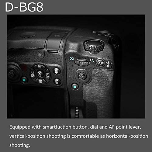 519ka7xUn8L. AC  - PENTAX Battery Grip D-BG8 Black for Pentax K-3 III Flagship DSLR Dust-Proof and Weather Resistant Construction with Capacity to Hold Additional D-LI90 Battery (37048)