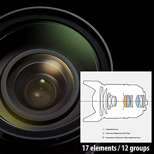 51BqEYbFleL. AC  - HD PENTAX-D FA 24-70mmF2.8ED SDM WR High-performance standard zoom lens 24mm ultra-wide angle Weather-resistant construction Exceptional imaging power ED Glass Aspherical lens Latest lens coating