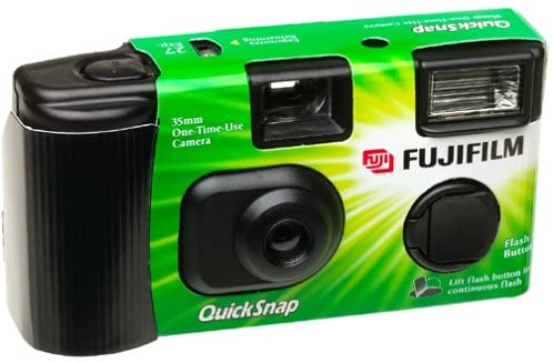 51CDPPZSYBL. AC  - Fuji 35mm QuickSnap Single Use Camera, 400 ASA (FUJ7033661) Category: Single Use Cameras (Discontinued by Manufacturer), 10 Count
