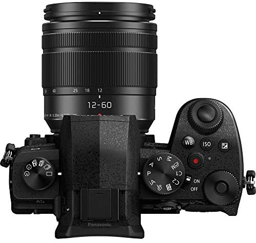 51FzkRyQsjL. AC  - Panasonic Lumix G95MK Mirrorless Camera with 12-60mm f/3.5-5.6 Lens, Lexar 64GB Memory, 2 Spare Batteries with Charger, Monopod, Card Reader, Filter Kit, Cleaning Kit, Bag and More