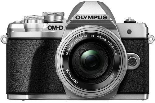 51K+Qvi4D6L. AC  - OM-D E-M10 Mark III with 14-42mm EZ [Silver]