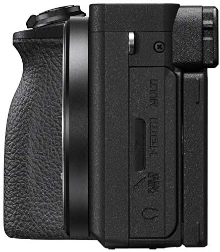 51R6gVCVQNL. AC  - Sony a6600 Mirrorless Camera 4K APS-C Body Only Interchangeable Lens Camera ILCE-6600B with Deco Gear Case + Extra Battery + Flash + Wireless Remote + 64GB Memory Card + Software + Accessories Bundle