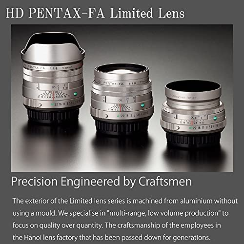 51fPEnQrDdS. AC  - Pentax HD 31mmF1.8 Limited Black Limited Lens Wide-Angle Prime Lens [F1.8 Large Aperture Lens] [High-Performance HD Coating] [SP Coating] [Round-Shaped Diaphragm] [Machined Aluminum Body ] (20210)