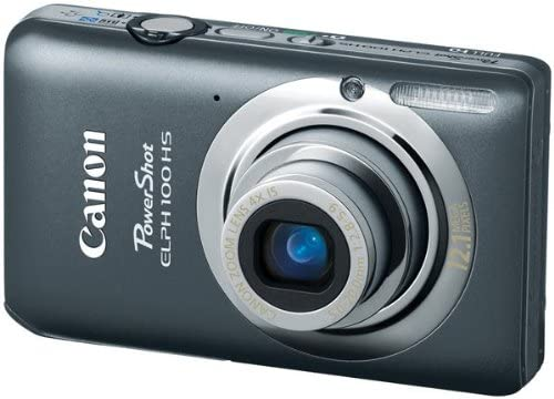 51mb6+DPvPL. AC  - Canon PowerShot ELPH 100 HS 12.1 MP CMOS Digital Camera with 4X Optical Zoom (Grey) (OLD MODEL)