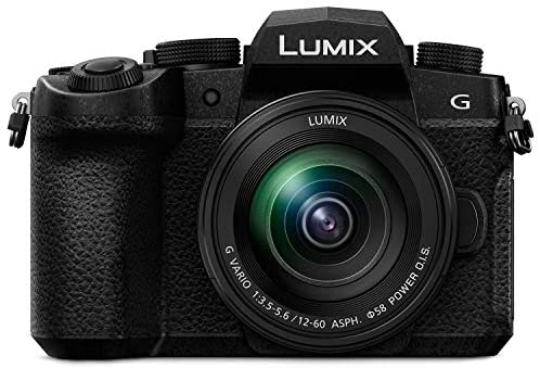 """51sV3 la1UL. AC  - Panasonic LUMIX DC-G95 Mirrorless Digital Camera with 12-60mm Lens Bundle Includes 64GB 170 MB/s Extreme Pro SD Card, Dual Battery & Charger kit, Backpack, 3-pc Filter kit, & 12"""" Spider Tripod"""