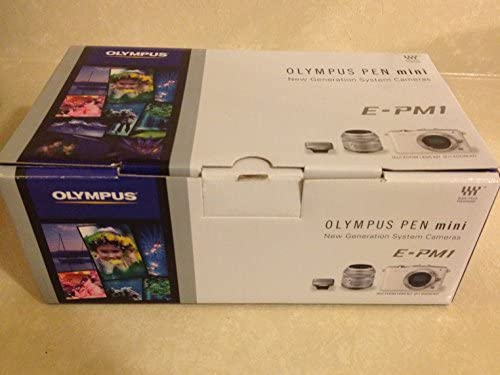 51uOYE59hYL. AC  - Olympus PEN E-PM1 12.3MP Interchangeable Camera with CMOS Sensor, 3-inch LCD and 14-42mm II Lens (Black) (Old Model)