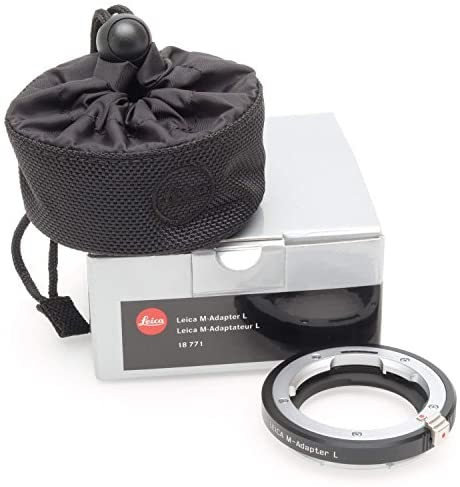 51xwwv5CRnL. AC  - Leica M-Mount to L-Mount Lens Adapter (Silver)