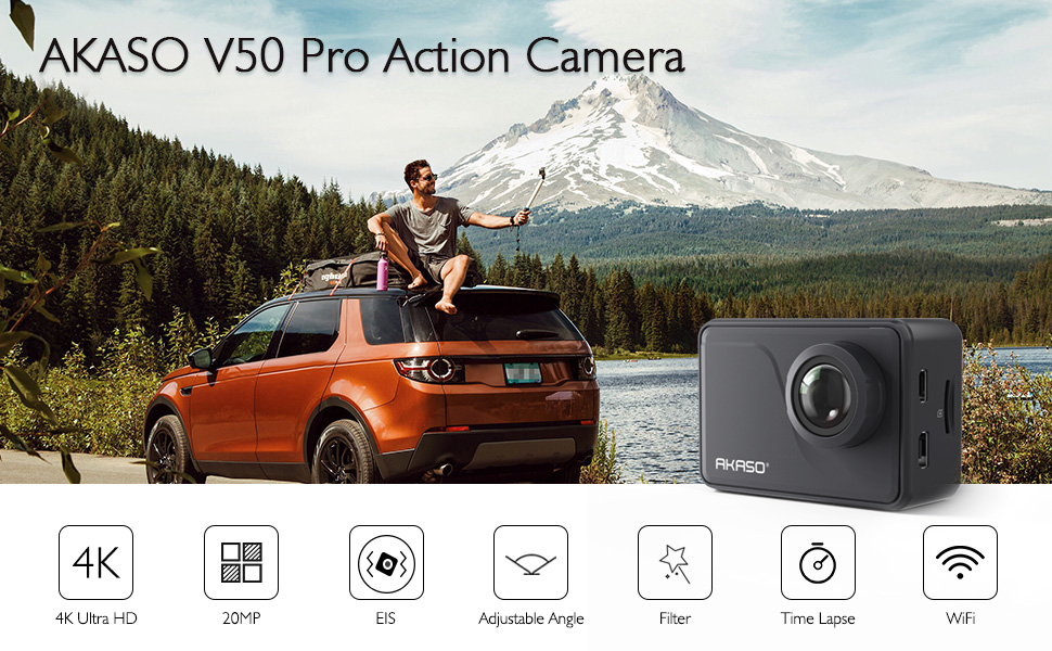 5cd57316 2710 445f 9cb8 769907dfc1e2. CR0,0,970,600 PT0 SX970   - AKASO V50 Pro Native 4K30fps 20MP WiFi Action Camera with EIS Touch Screen 100 feet Waterproof Camera Web Camera Support External Mic Remote Control Sports Camera with Helmet Accessories Kit