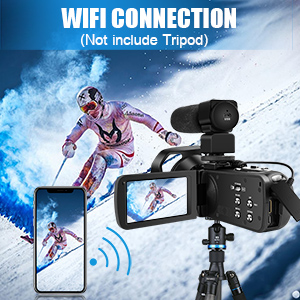 61063c07 f96b 40b2 8ca2 940a0d48136f.  CR0,0,300,300 PT0 SX300 V1    - 4K Camcorder 48MP 18X Digital Camera WiFi IR Night Vision Video Camera for YouTube 3.0inch HD Touch Screen Vlogging Camera with External Microphone, Stabilizer and Remote Control