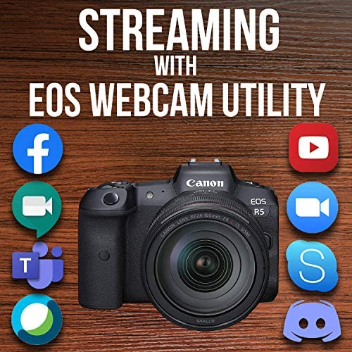 619M6xNCi L. AC  - Canon EOS R5 Full-Frame Mirrorless Camera with 8K Video, 45 Megapixel Full-Frame CMOS Sensor, DIGIC X Image Processor, Dual Memory Card Slots, and Up to 12 fps Mechnical Shutter, Body Only
