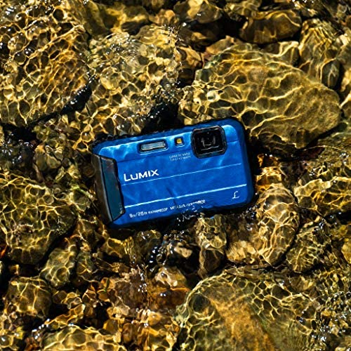 61LefmHPsfL. AC  - Panasonic LUMIX Waterproof Digital Camera Underwater Camcorder with Optical Image Stabilizer, Time Lapse, Torch Light and 220MB Built-In Memory – DMC-TS30A (Blue)