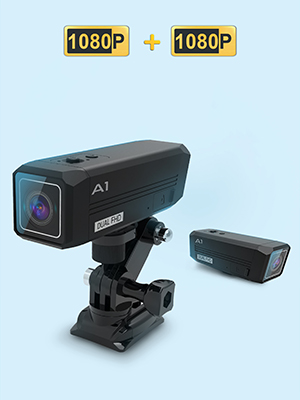 622df9f8 f76b 45de 98db 181a12695a03.  CR0,0,300,400 PT0 SX300 V1    - REXING A1 Two Way 2.7K Action Camera Front & Back 1080p@30fps w/WiFi/Wide Angle/Wrist Remote Control/Waterproof Extreme Sports Camcorder for Motorcycles/Bicycle/Sport Bike/Hiking/Cars