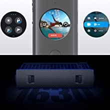 91260ccc b0a6 4800 a7ec 7aaef8f90dd3.  CR0,0,1600,1600 PT0 SX220 V1    - Insta360 ONE X2 360 Degree Waterproof Action Camera, 5.7K 360, Stabilization, Touch Screen, AI Editing, Live Streaming, Webcam, Voice Control