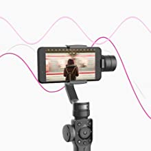ON3I8bWSQUel. UX220 TTW   - Zhiyun Smooth 4 3-Axis Handheld Gimbal Stabilizer with Grip Tripod for iPhone 12 11 Pro Xs Max Xr X 8 Plus 7 6 SE Android Cell Phone Smartphone YouTube Vlog Live Video Kit