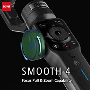 VYayNeeRUG6. UX300 TTW   - Zhiyun Smooth 4 3-Axis Handheld Gimbal Stabilizer with Grip Tripod for iPhone 12 11 Pro Xs Max Xr X 8 Plus 7 6 SE Android Cell Phone Smartphone YouTube Vlog Live Video Kit
